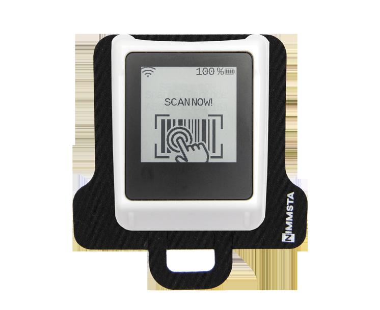 Nimmsta Handrückenscanner mit Clippad