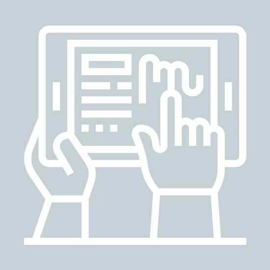 digitale Prozesse auf dem Handrückenscanner